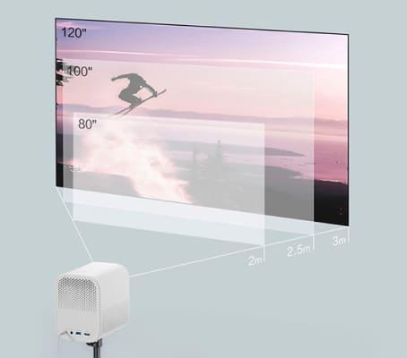 Mi Laser Projection Mini диффузное отражение